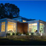 Newburyport, MA, ZNE home -- Steven Baczek, architect