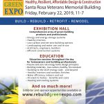 Rebuild Green Expo flyer