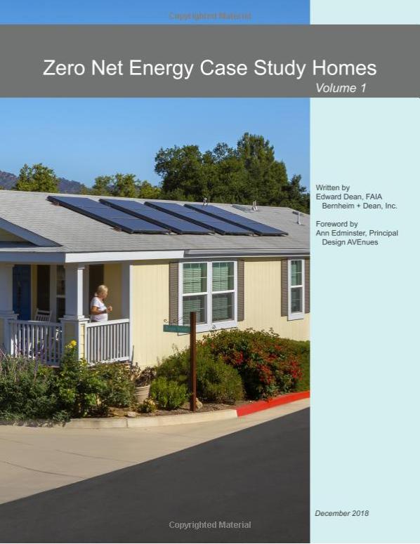 Net Zero energy homes
